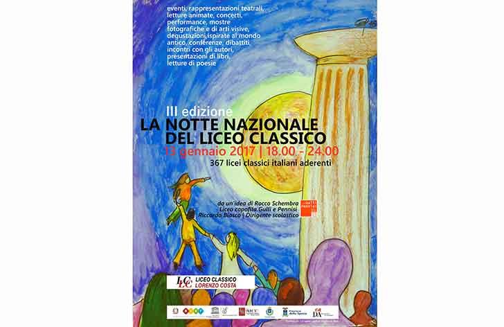 È la notte del Liceo Classico: iniziative in 388 istituti italiani