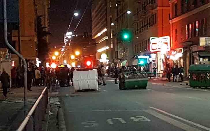 Contestazioni contro CasaPound, 7 manifestanti denunciati