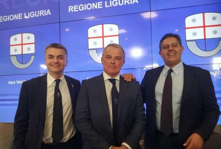 Regione Liguria, passaggio di testimone tra Rixi e Benveduti