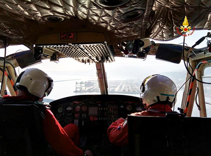 Elicottero Drago 84 : Diversi gli interventi dell elicottero dei vigili del fuoco