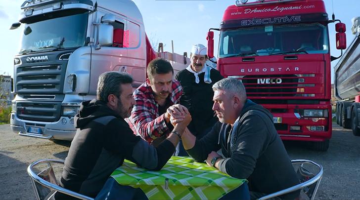 D-MAX Camionisti in Trattoria – Puntata in Liguria