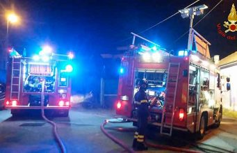 Terzo Valico, incendio in galleria: fiamme domate all'alba