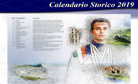 Calendario Storico Carabinieri 2019.Genova E La Liguria Nel Calendario Carabinieri 2019