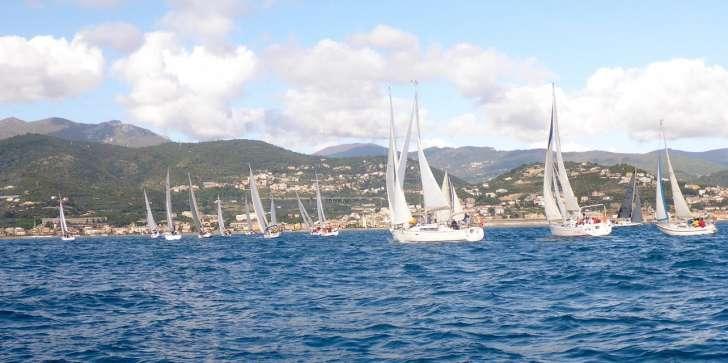 Schieroni guida la flotta dell' Invernale Marina di Loano - Liguria Notizie