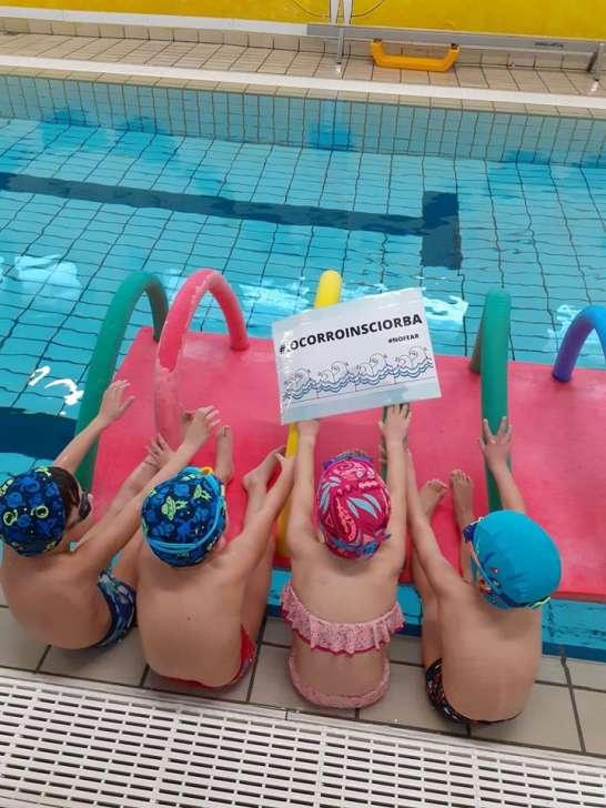 #iocorroinSciorba: apertura totale per la casa del Nuoto