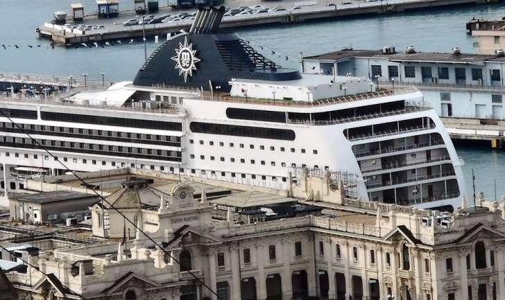 A Messina Msc Opera rifiutata da Malta. Arrivo alle 13