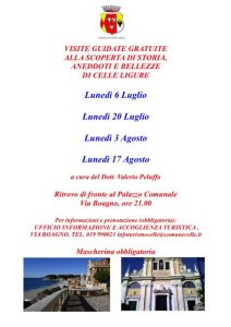 Visite guidate culturali Celle Ligure