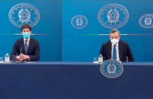 Draghi in conferenza: Verso obbligo vaccinale e terza dose