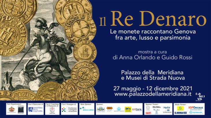 Al Palazzo della Meridiana la mostra Il Re Denaro
