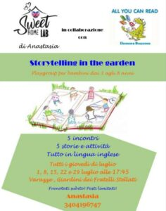 Storytelling in the garden a Varazze