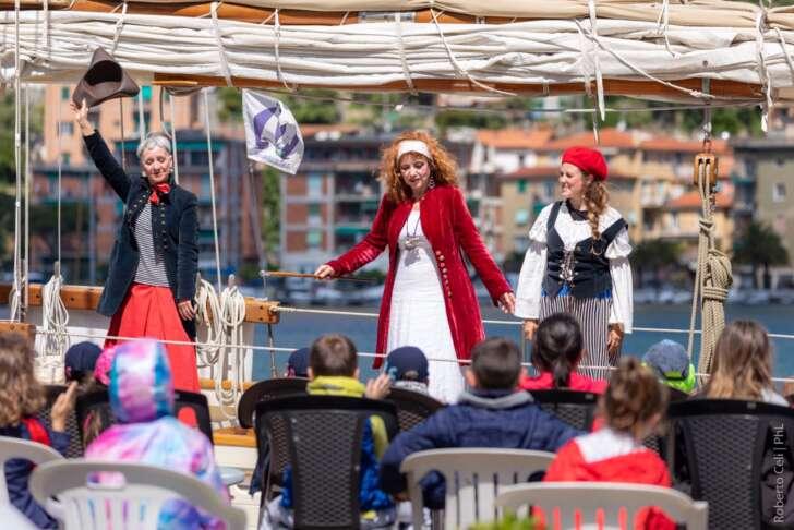 A Portovenere il teatro riparte dal mare