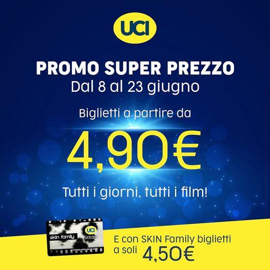 Super offerta negli UCI Cinemas