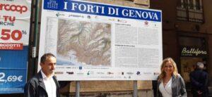 Rinasce il Sentiero delle fortificazioni a Genova