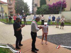 Ceriale inaugura il nuovo Parco Sasso