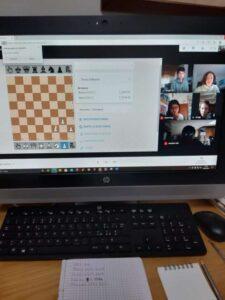 Incontro con la campionessa italiana di scacchi