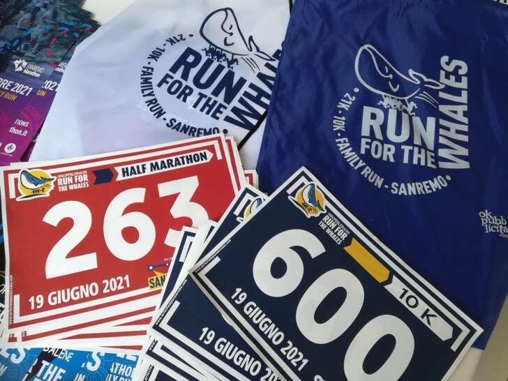 Sanreno e la Run for whales