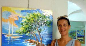 A Varazze la mostra di Paola Defilippi