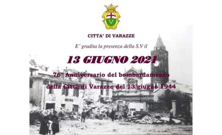 Varazze ricorda i caduti del giugno 1944