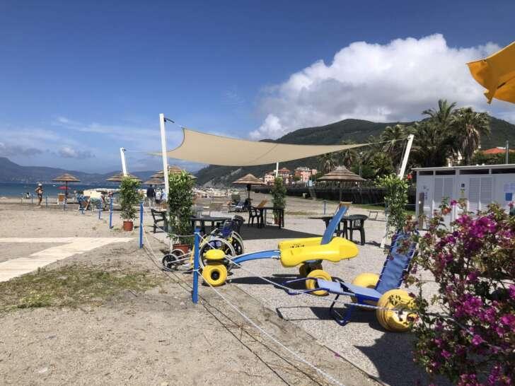 Riapre la Spiaggia per Tutti a Chiavari