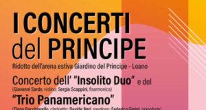 """l'Insolito Duo ed il Trio Panamericano ai """"Concerti del Principe"""""""