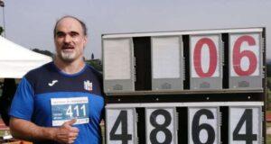 Nuovo record per l'atleta ligure Tonetto