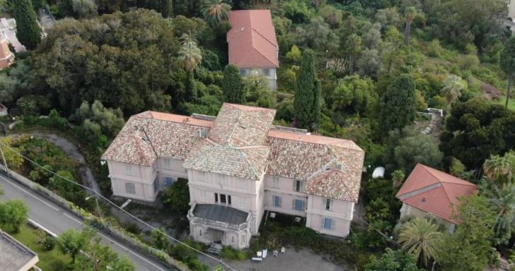 Restyling di Villa Lieta a Sanremo