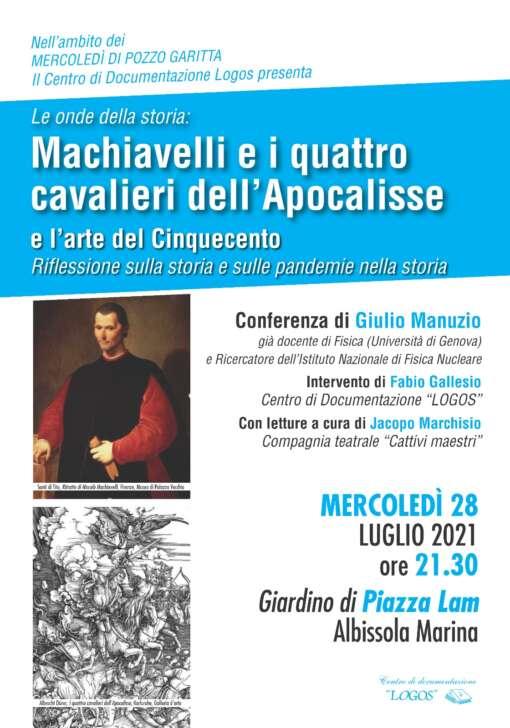 Albissola, mercoledì 28 al Circolo degli Artisti, ritorna Giulio Manuzio, Pozzo Garitta, 32 Savona