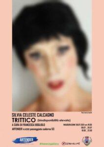 Silvia Celeste Calcagno espone ad Alassio