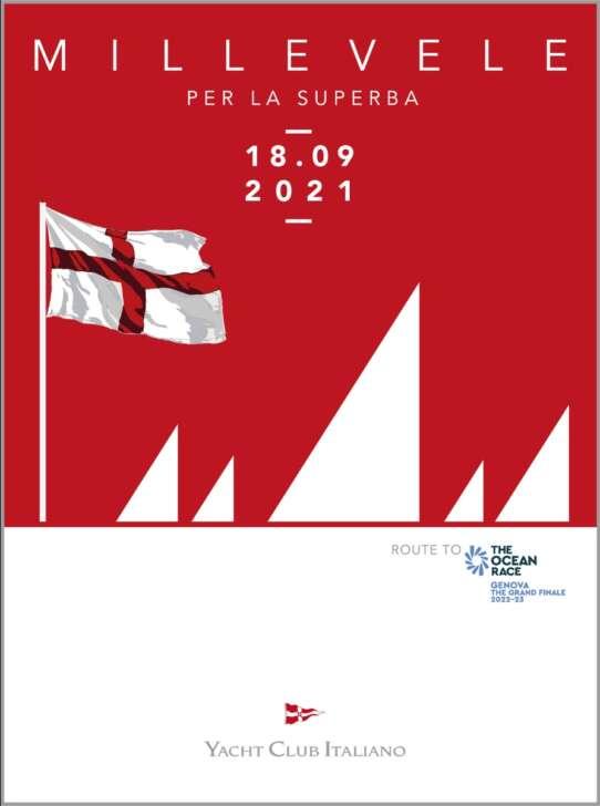 Millevele 2021 nel mare di Genova