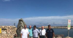 Nel porto di Andora la Madonna dello scoglio