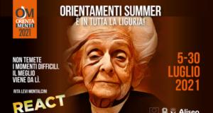 Orientamenti Summer 2021 A Chiavari dal 27 al 30 luglio