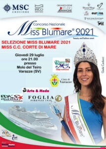 Al via Miss Blumare a Varazze