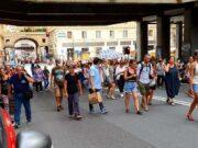 No Green pass, oggi manifestazioni in tutta Italia