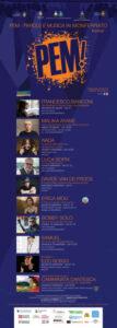 Tra musica e letteratura nel Monferrato. Dal 22 agosto al 24 settembre la nuova edizione di PEM! con grandi nomi della musica italiana.