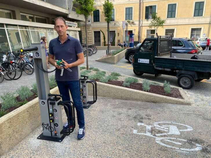 A Diano colonnine per bici elettriche