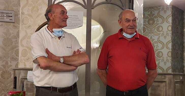 I titolari di Ö Vittorio: i gemelli Gianni e Vittorio Bisso