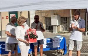 Il Sindaco di Celle Ligure premia al Trofeo di Ferragosto