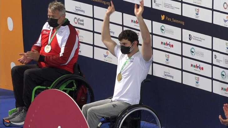 Paralimpiadi Tokyo, Bocciardo medaglia d'oro nel nuoto