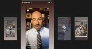 La gaffe e la diretta di Bassetti su Instagram | Video