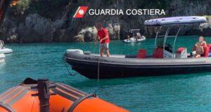 Controlli della Guardia Costiera nell'Area Marina delle Cinque Terre