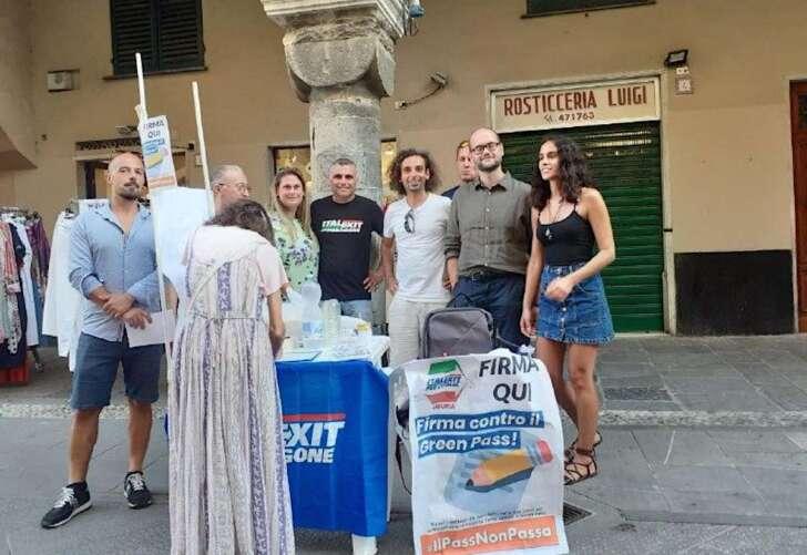 Italexit ringrazia la cittadinanza di Rapallo per la campagna No Green Pass
