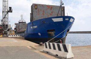 Cargo panamense sottoposto a detenzione nel porto di Savona
