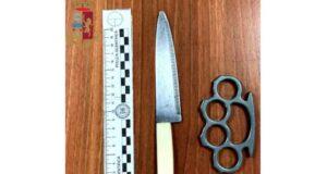 Italiana trovata con coltello e tirapugni: denunciata a Principe