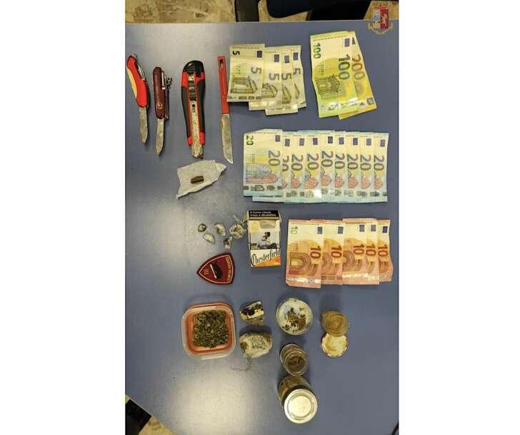 Pusher genovese di 26 anni arrestato a Sampierdarena