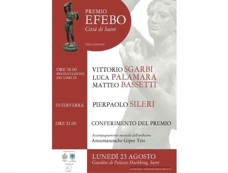 Il Premio Efebo Città di Sutri