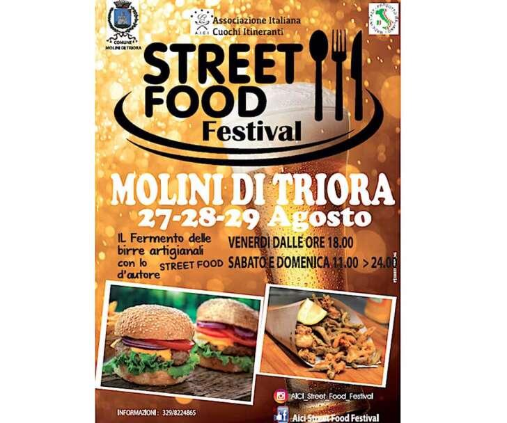 A Molini di Triora nel weekend arriva lo street food di qualità