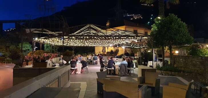Una serata in terrazza alla Manuelina
