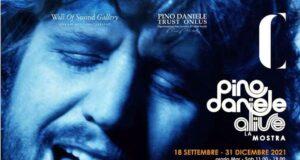 Al via Pino Daniele alive la mostra