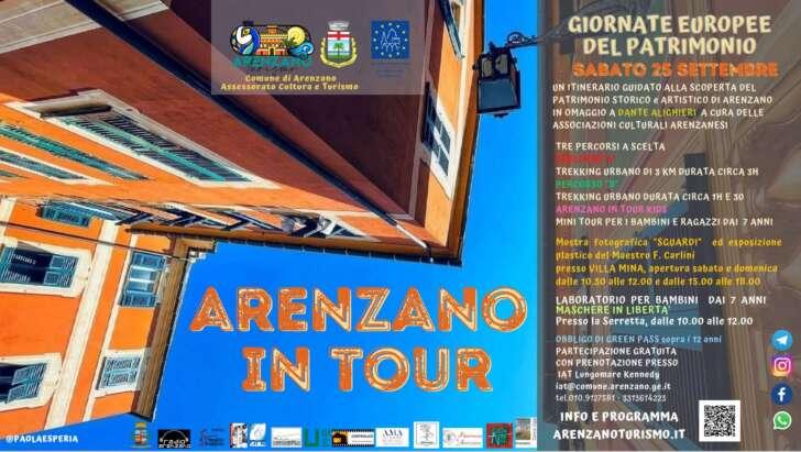 Arenzano in tour il 25 settembre