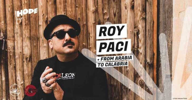 Genova Hope Fest, Roy Paci LIVE ai Luzzati